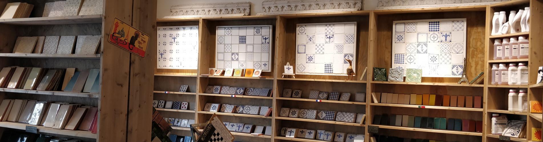 Franska Kakelbutiken Interior