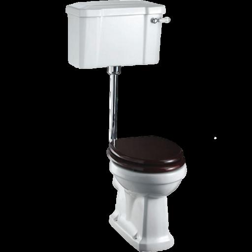 Burlington lågspolande toalett BUR-WC1T31