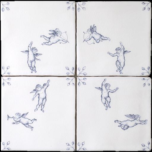 Amorini 4 tile Panel