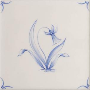 Klassisk Delft Flowers 3