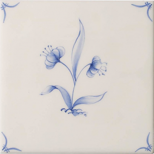Klassisk Delft Flowers 4