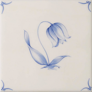 Klassisk Delft Flowers 5
