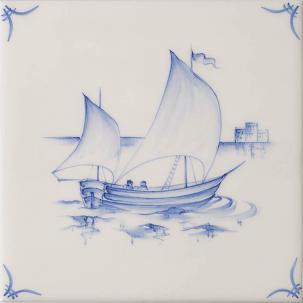 Klassisk Delft Ships & Landscapes 2