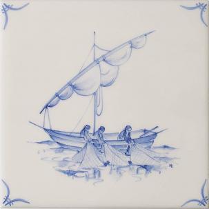 Klassisk Delft Ships & Landscapes 6