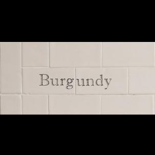 Individuella Ord Burgundy