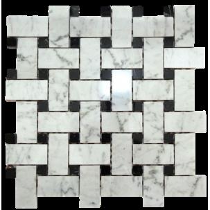 Marmor Nexus Bianco Carrara Nero Marquina