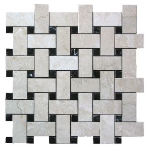 Marmor Nexus Botticino Nero Marquina