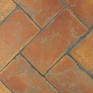 Spansk Terracotta Rektangulär