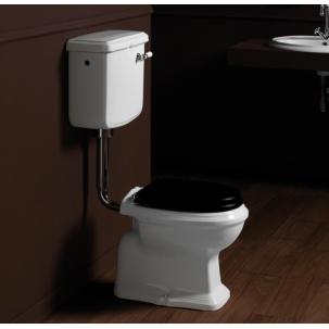 Arcade lågspolande toalett