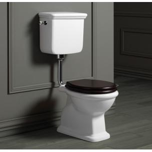 Lante lågspolande toalett