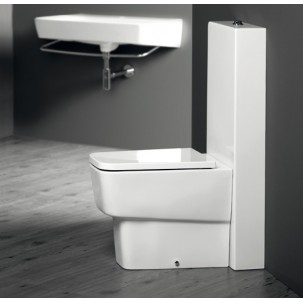 Degradé golvstående toalett med CT-tank