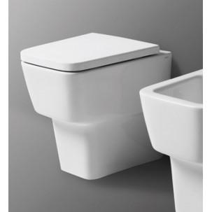Degradé XS golvstående vägghängd toalett mot vägg eller golvavlopp